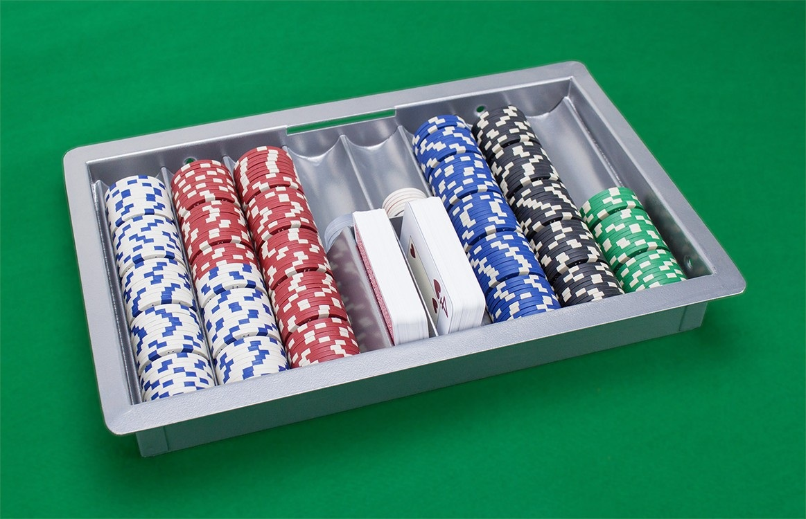 Metal 8 Row Casino Table Nick Tray With Cover and Lock Review